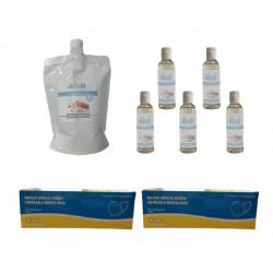 Pack famille gel hydroalcoolique
