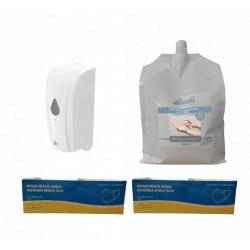 Pack distributeur solution hydroalcoolique