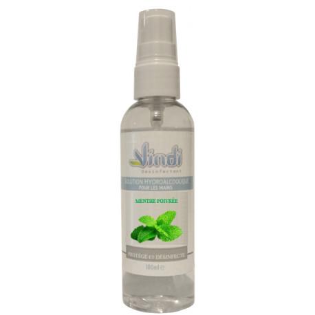 Spray solution hydroalcoolique Menthe Poivrée - 100ml