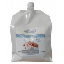 Eco-recharge gel hydroalcoolique - 2.5L