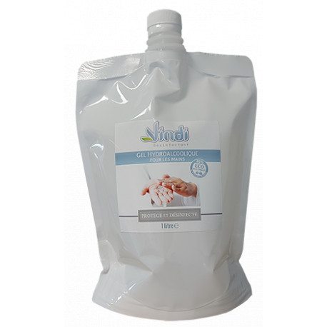 Eco-recharge gel hydroalcoolique - 1L