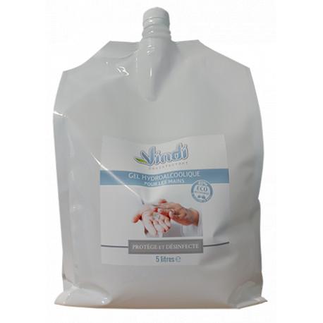 Eco-recharge gel hydroalcoolique - 5L