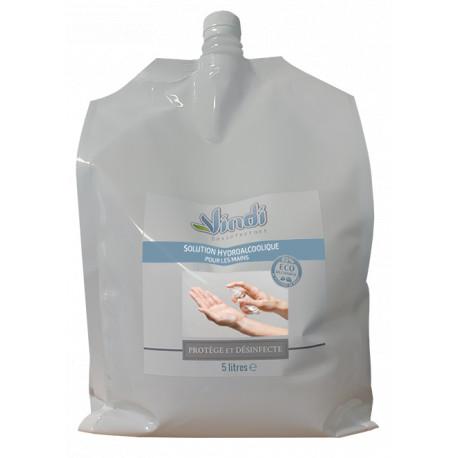 Eco-recharge solution hydroalcoolique - 5L