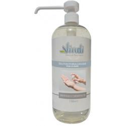 Flacon solution hydroalcoolique - 1L