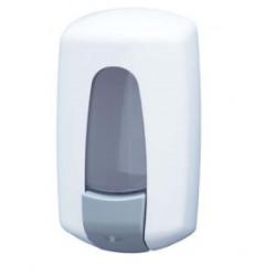 Distributeur de gel hydro-alcoolique ABS blanc à remplissage - JAT70010